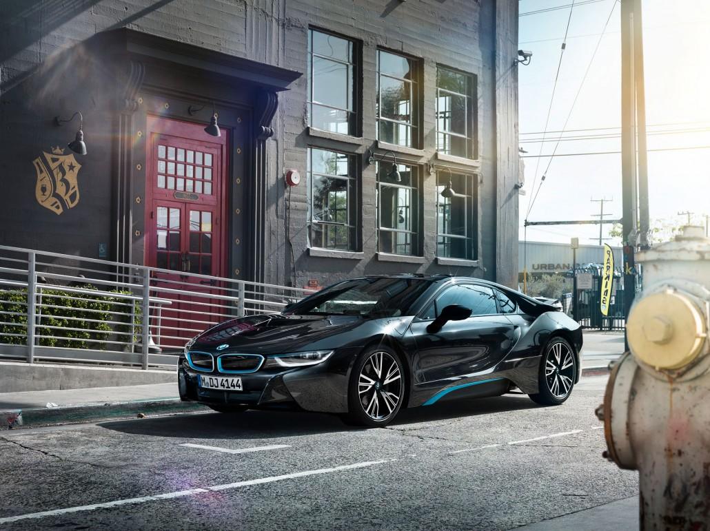 BMW i8 – Los Angeles – 6 ist ein Car Look Composing von Tobias Winkler - Bildbearbeitung München.