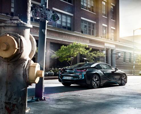 BMW i8 – Los Angeles – 7 ist ein Car Look Composing von Tobias Winkler - Bildbearbeitung München.