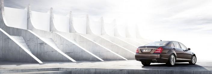 Mercedes Benz S-Class 02 ist ein Car Composing der Tobias Winkler - Bildbearbeitung München.