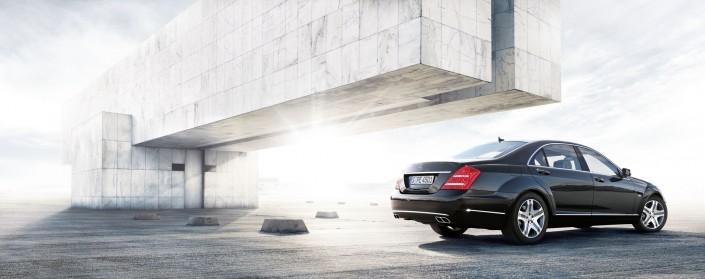 Mercedes Benz S-Class 05 ist ein Car Composing der Tobias Winkler - Bildbearbeitung München.