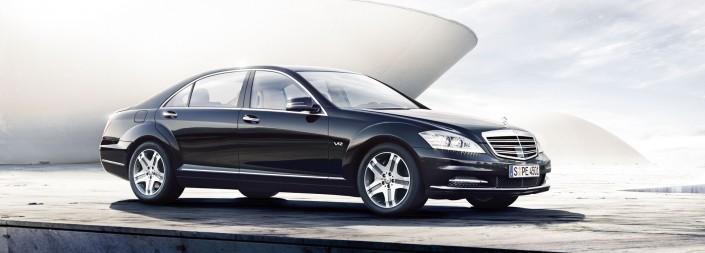 Mercedes Benz S-Class 06 ist ein Car Composing der Tobias Winkler - Bildbearbeitung München.